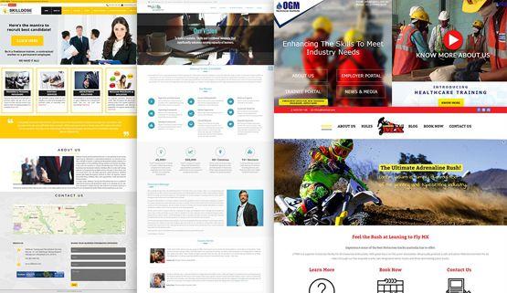 Brochure design and content portfolio