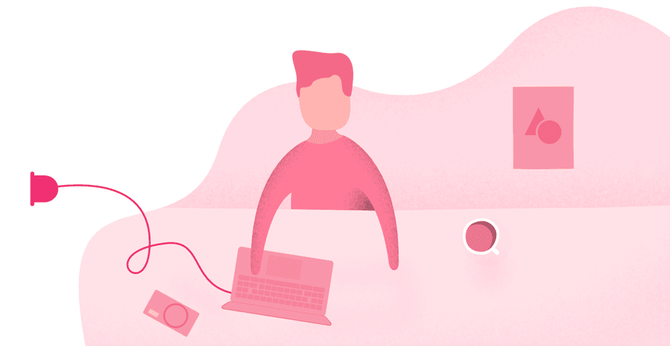 Freelancers or Agencies are connected to Clients